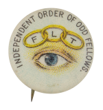 Independent Order Of Odd Fellows Club Button Museum