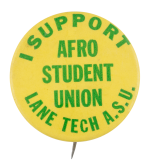 Lane Tech Afro Student Union Chicago Button Museum