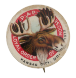 Loyal Order Of Moose Club Button Museum