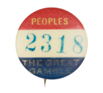 Peoples the Great Gamble Club Button Museum