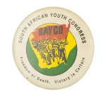South African Youth Congress Club Button Museum