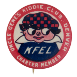 Uncle Genes Kiddie Club Club Button Museum
