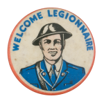 Welcome Legionnaire Club Button Museum