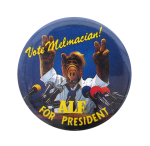 Vote Melmacian Entertainment Button Museum