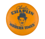 Charlie Chaplin Modern Times Entertainment Button Museum