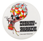 Disney On Parade Entertainment Button Museum