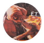 E.T. With Dog Entertainment Button Museum