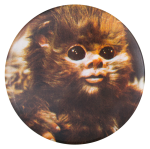 Ewok Star Wars Entertainment Button Museum