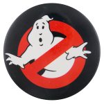 Ghostbusters Circle Entertainment Button Museum