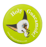Holy Guacamole Skippy Jon Jones Entertainment Button Museum