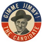Jimmy Durante The Candidate Entertainment Button Museum