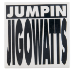 Jumpin Jigowatts Back to the Future Entertainment Button Museum