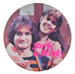 Mork & Mindy Entertainment Button Museum