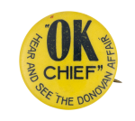 OK Chief Entertainment Button Museum