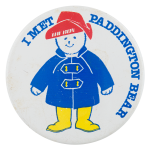 Paddington Bear Entertainment Button Museum