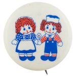Raggedy Ann and Andy Entertainment Button Museum