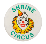 Shrine Circus Event Button Museum