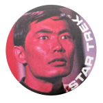 Star Trek Sulu Entertainment Button Museum