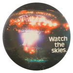 Watch the Skies Entertainment Button Museum