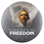 A New Birth of Freedom Event Button Museum