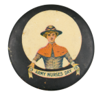 Army Nurses Day Event Button Museum