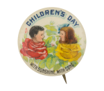 Children's Day Event Button Museum