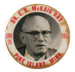 Dr. McKaig Day Events Button Museum