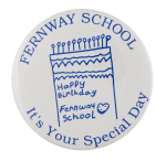 Fernway School Birthday Events Button Museum