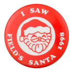 Field's Santa 1998 Event Button Museum