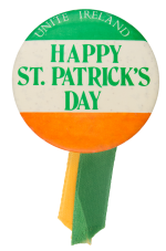 Happy St. Patrick's Day Event Button Museum