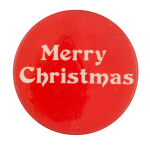 Merry Christmas Event Button Museum