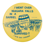 Niagara Daredevil Event Button Museum
