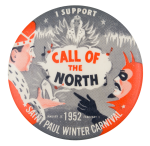 Saint Paul Winter Carnival 1952 Event Button Museum