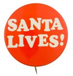 Santa Lives! Event Button Museum