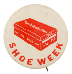 Shoe Week Town and Country Shoes Event Button Museum