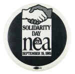 Solidarity Day NEA Events Button Museum