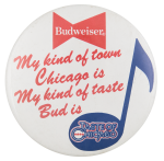 Taste of Chicago My Kind of Town  Event Button Museum