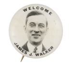 Welcome James J. Walker Event Button Museum