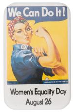 Women's Equality Day Events Button Museum