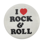 I Heart Rock and Roll I heart Button Museum