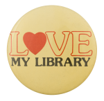 Love My Library I Heart Button Museum