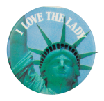 I Love the Lady  I Heart Buttons Button Museum