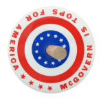 McGovern Is Tops Innovative Button Museum