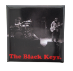 The Black Keys Square Music Button Museum