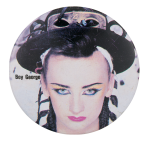 Boy George Music Button Museum