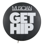 Get Hip Music Button Museum