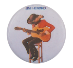 Jimi Hendrix Soundtrack Music Button Museum