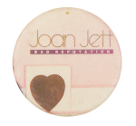 Joan Jett Bad Reputation Music Button Museum