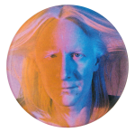 Johnny Winter Music Button Museum