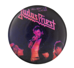 Judas Priest Hell Bent Music Button Museum